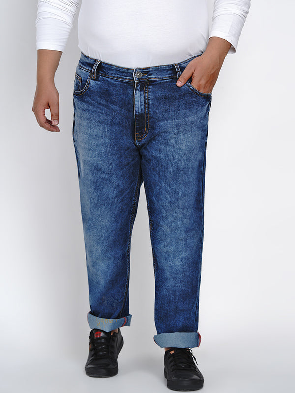 AZURE BLUE REGULAR FIT JEANS - 2521