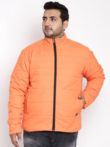 Orange Full Sleeve Jacket- 7339A
