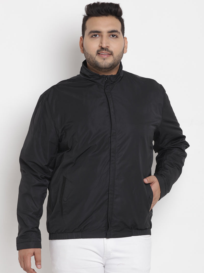 Black Full Sleeve Jackets -7350A