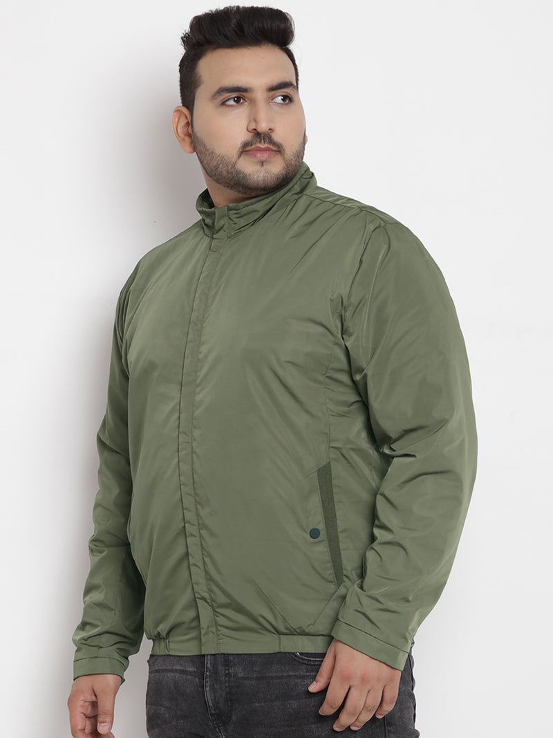 All Weather Wearable Olive Lightweight Jacket  - 7350B