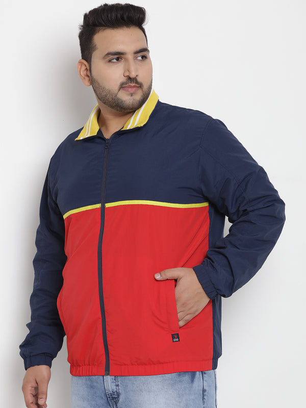 All Weather Wearable Colourblocked Jacket - 7354