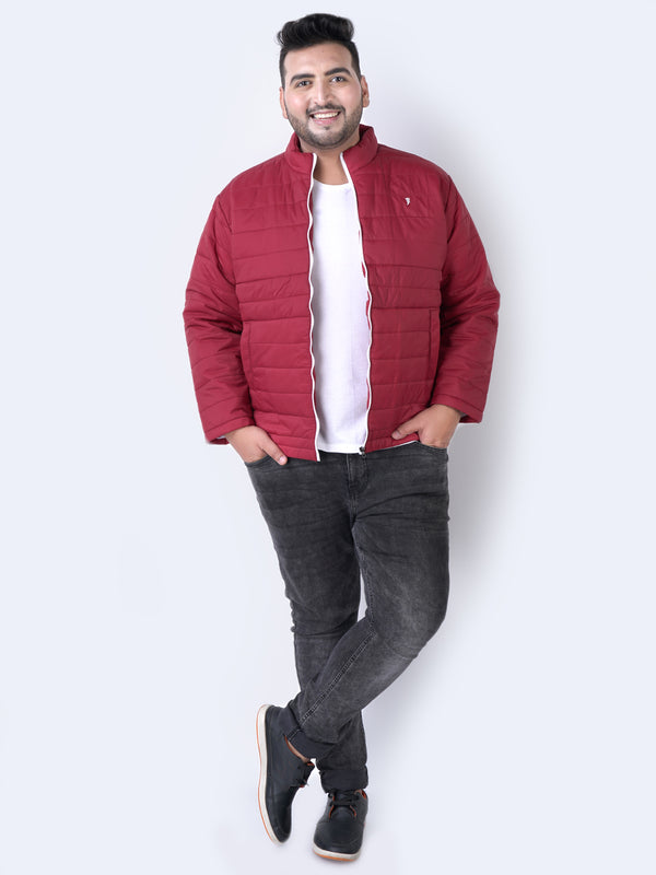 Red Nylon Jacket - 7363B