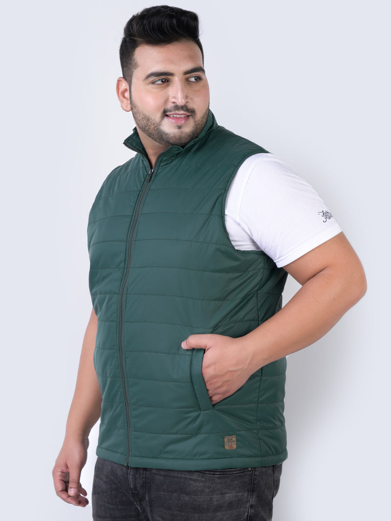 Olive Sleeveless Jackets - 7364A