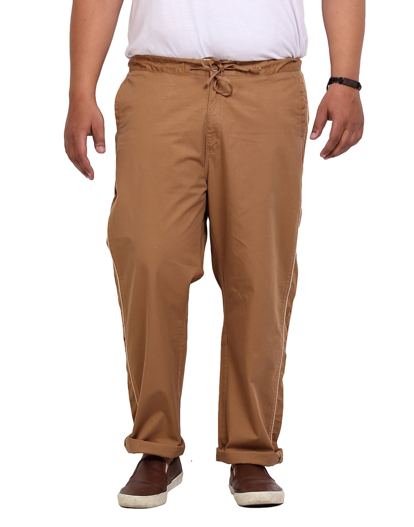Khaki Cotton Lower - 715B
