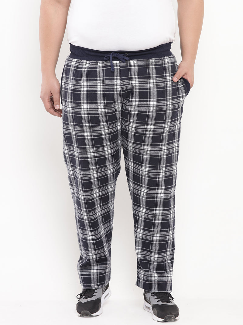 Navy Check Lower-740