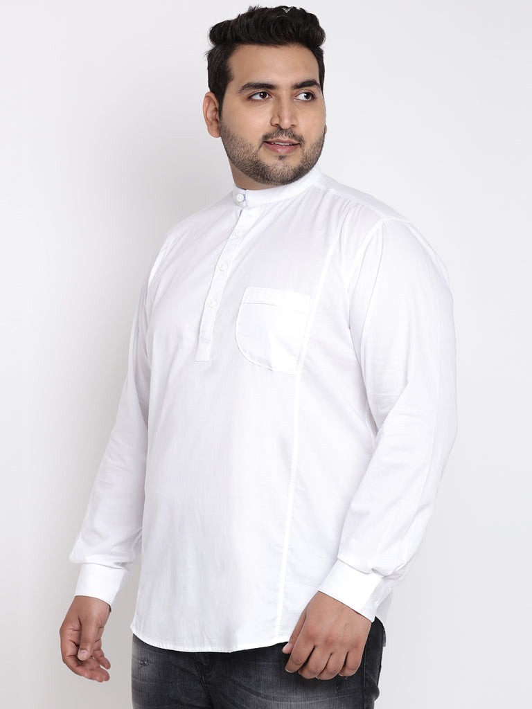White Full Sleeve Shirt - 4153A