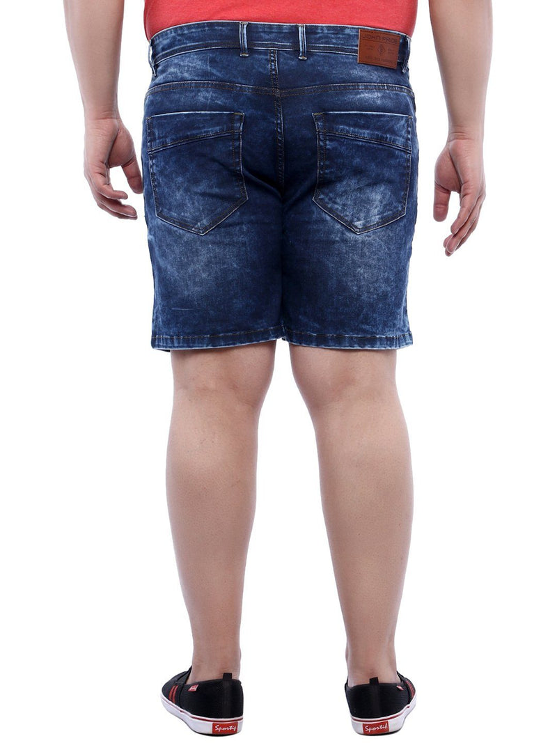 Blue Denim Shorts- 6617