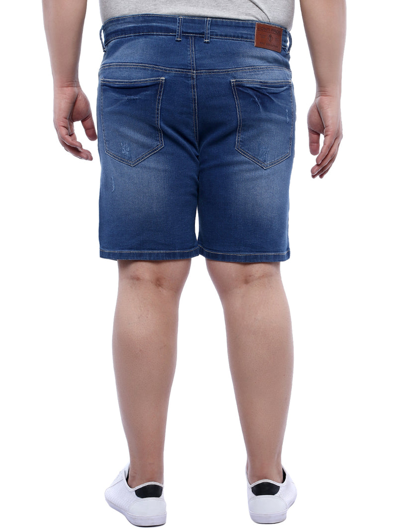 Blue Denim Shorts- 6618