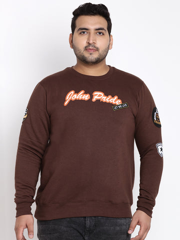 Coffee Full Sleeve Sweatshirt- 7535A