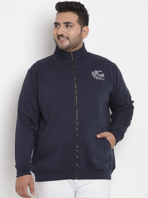 Navy Blue Sweatshirt - 7562A