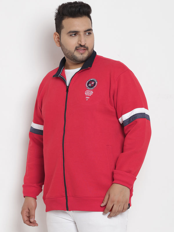 Red Comfort Sweatshirt - 7563A