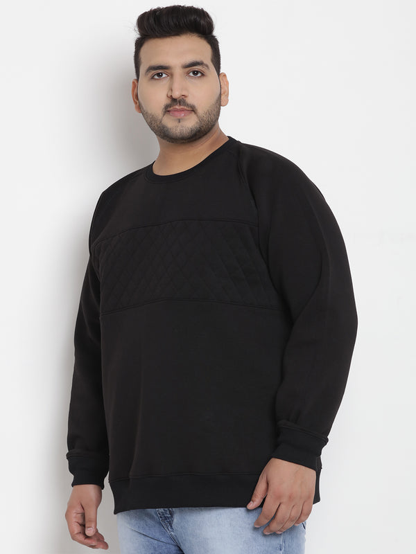 Black Fleece Sweatshirt -7564A