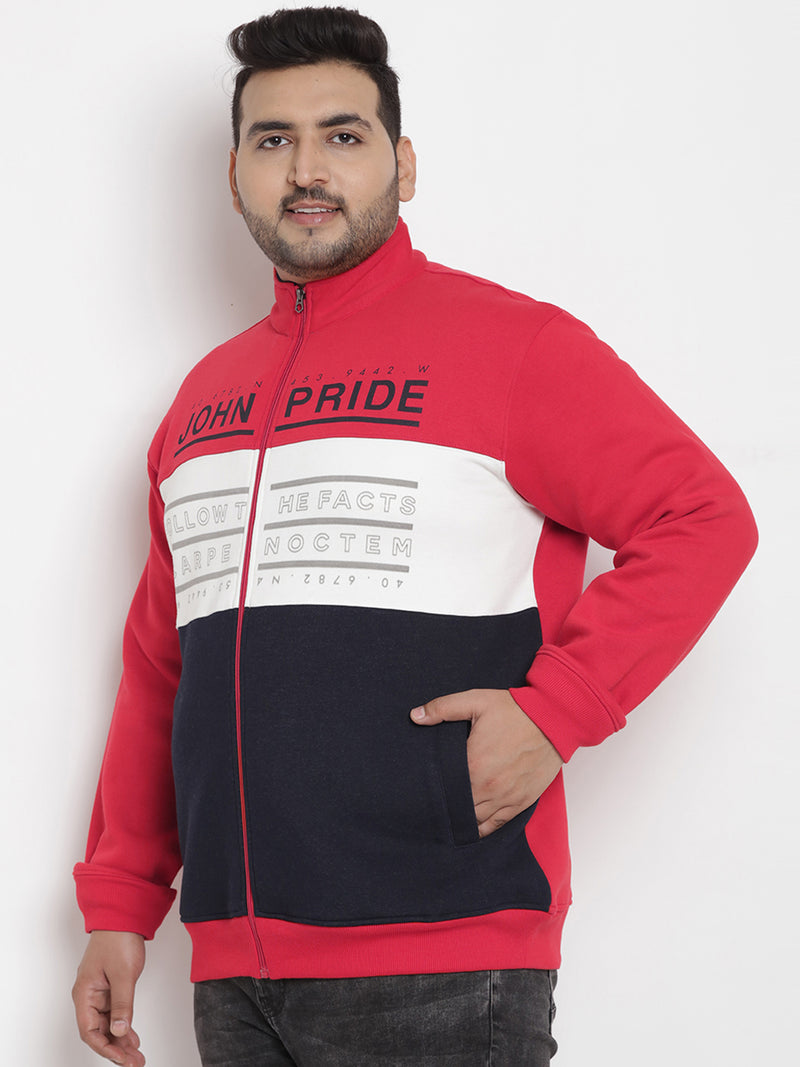 Red Fleece Sweatshirt - 7567A