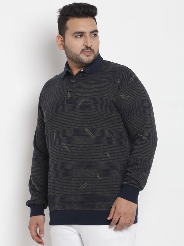 Olive Cotton Sweatshirt - 7569