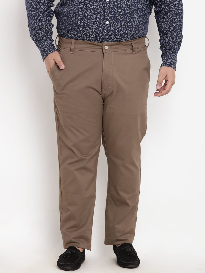Brown Cotton Trouser- 2128B