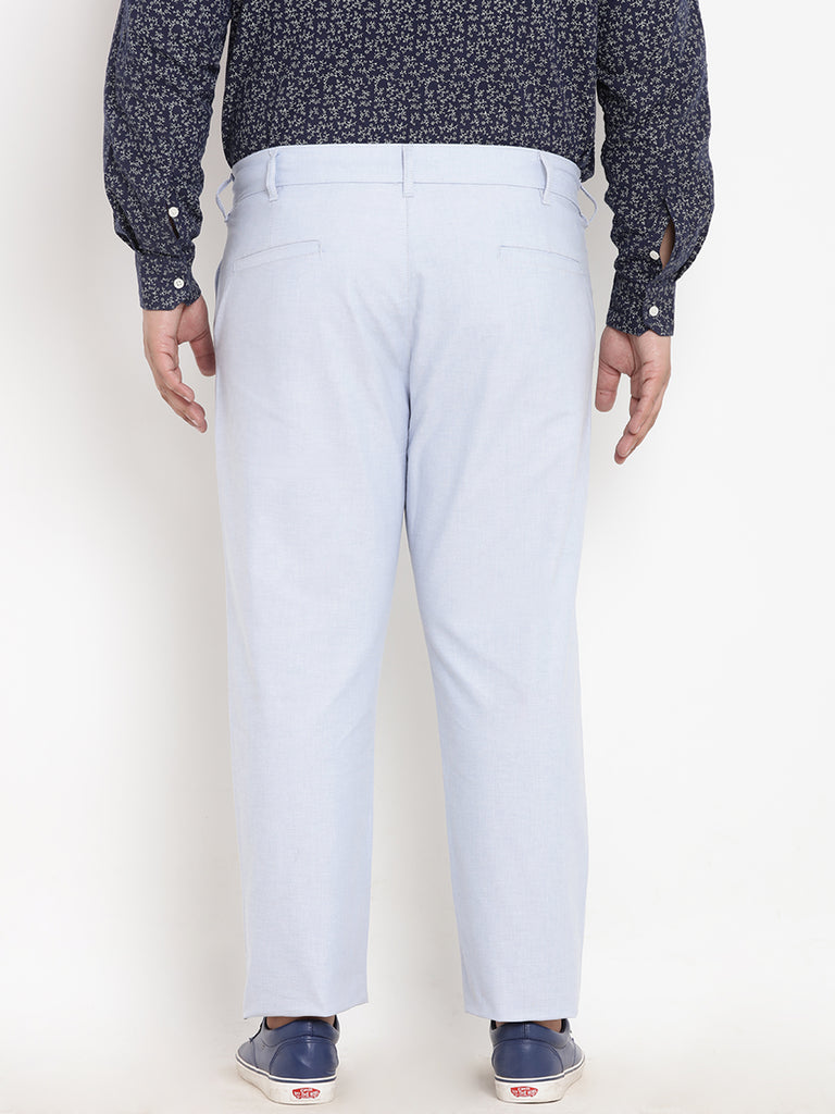 Light Blue Linen Trouser- 2129A