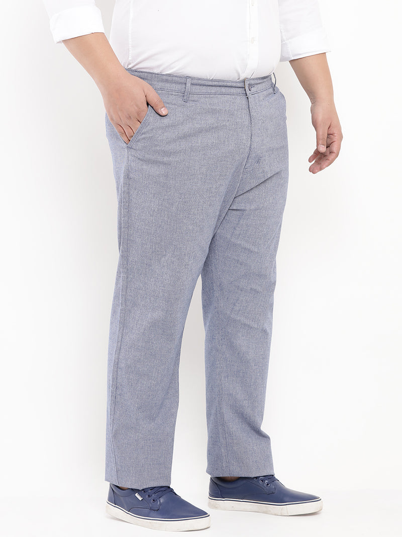 Blue Casual Trouser-2131A