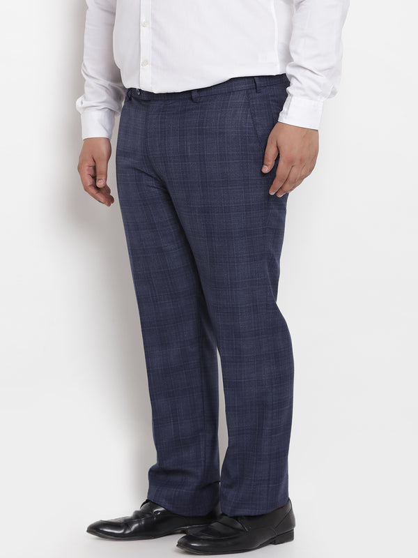 Navy Blue Formal Trouser -2221