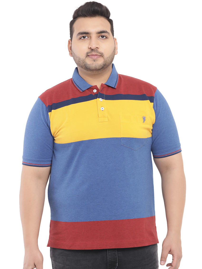Royal Blue Polo T-Shirt-3192