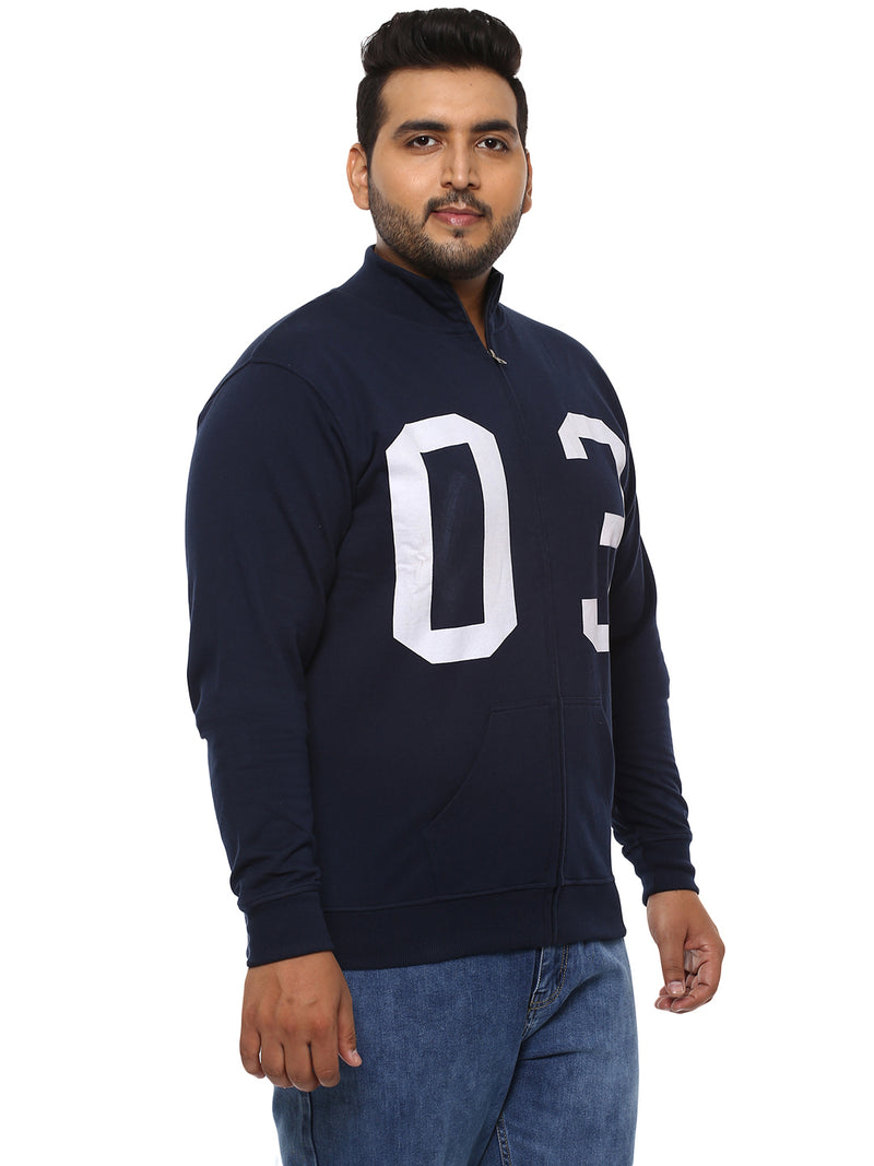 Navy Blue Sweatshirt- 7506A