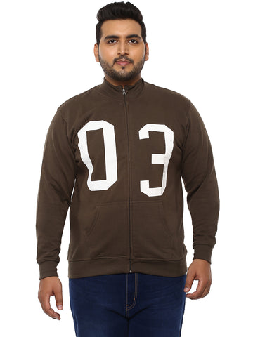 Brown Sweatshirt- 7506B