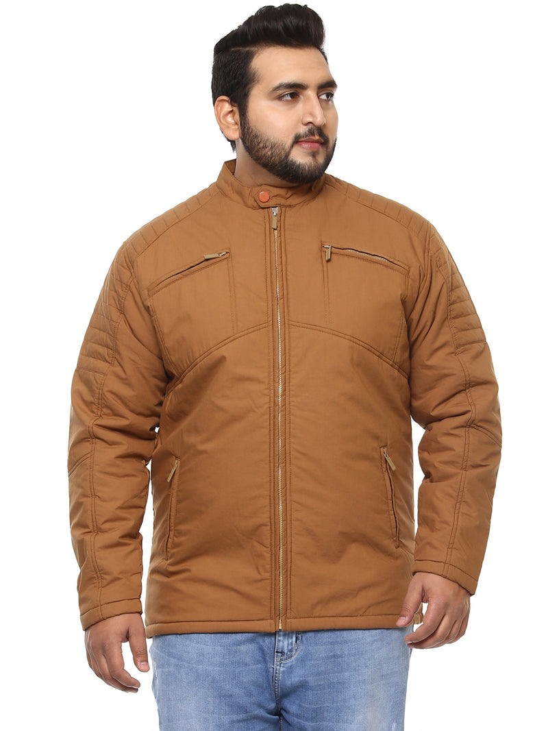 Brown Full Sleeve Jacket-7318