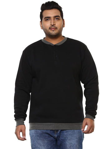 Black Full Sleeve Sweatshirt-7520C