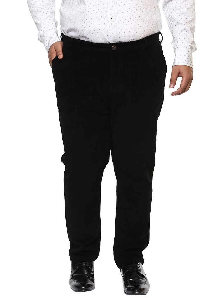 Black Corduroy Trouser-2119