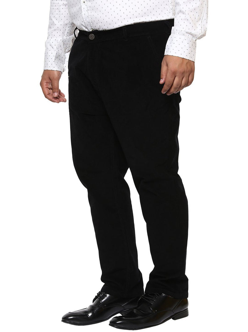 Black Corduroy Trouser-2155A