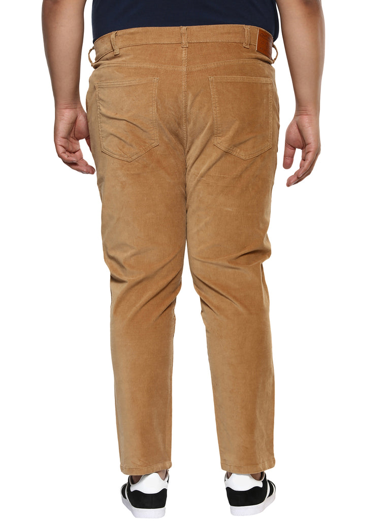 Tan Coloured Corduroy Trouser-2122