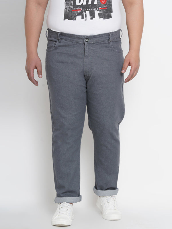 Grey Smart Fit Jeans- 1260B