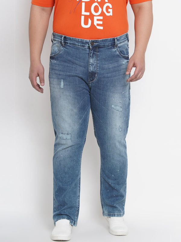 Low Distress Smart Fit Stretchable Jeans- 1265