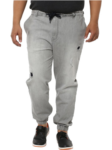 Light Grey Jogger- 1156