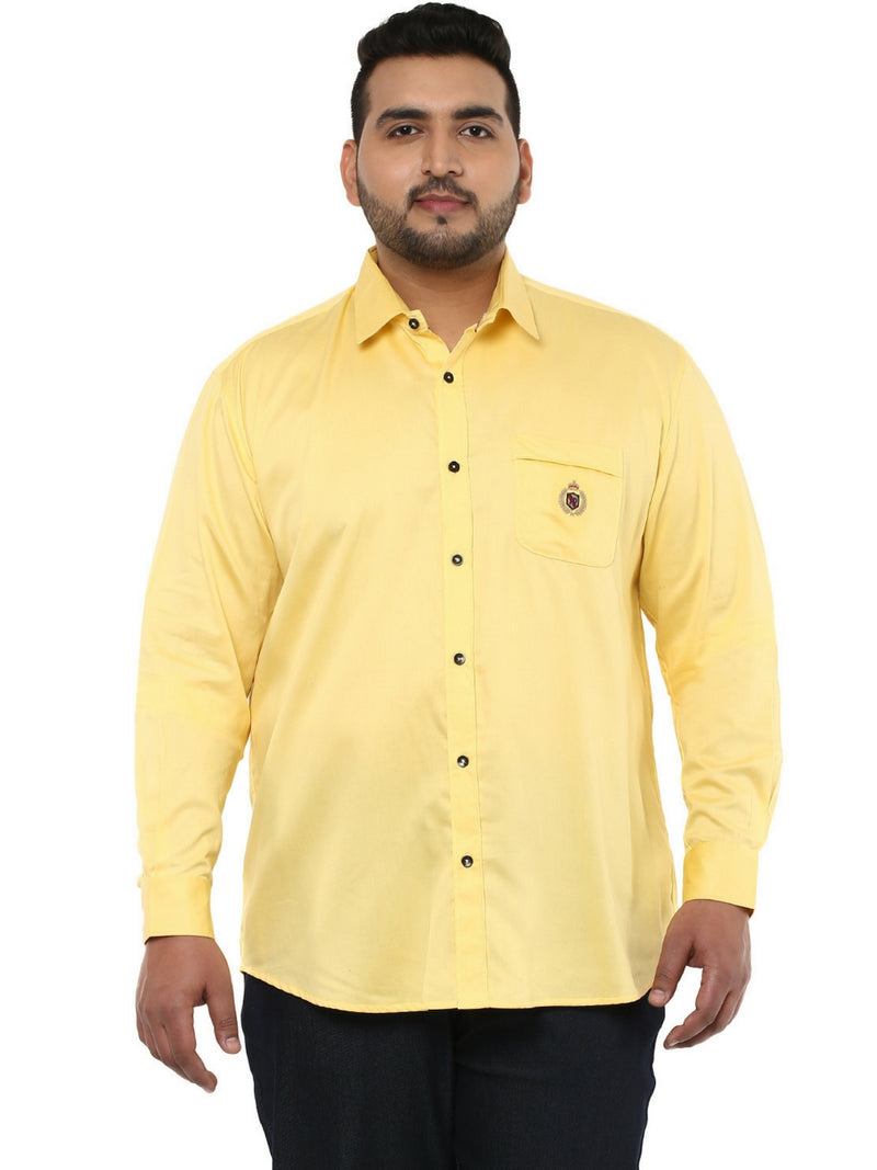 Yellow Casual Shirt- 4116A