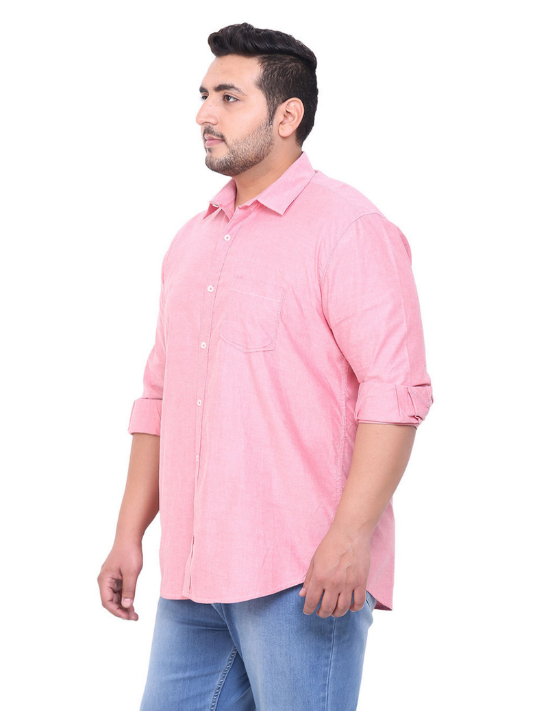 Pink Cotton Shirt- 4104C