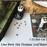 4 In 1  Leaves the Maker for Model Scenes at scales 1/35