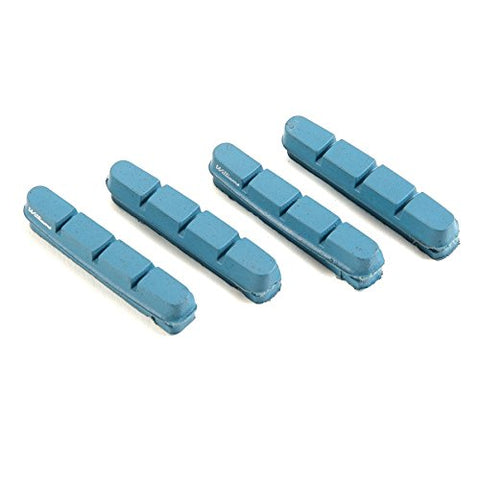 Williams Cycling Road Brake Pads for Carbon Rims - Shimano/SRAM, Blue