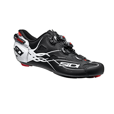 Sidi Shot Carbon Road Shoes (EU 46, Matt Black/White)