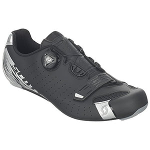 Scott Road Comp BOA Cycling Shoe - Men's Matt Black/Silver, 43.0