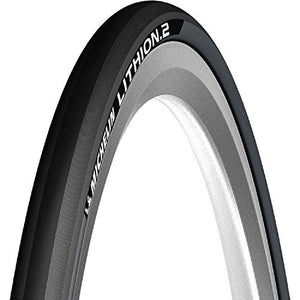 Michelin Lithion 2 Folding Road Tyre- OE Packing (Dark Grey, 700x23c)