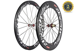 Superteam Front 50mm Rear 88mm Carbon Clincher Wheelset 23mm 700c Bicycle Wheel