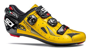Sidi Ergo 4 Carbon Road Shoes (EU 42, Yellow/Black)