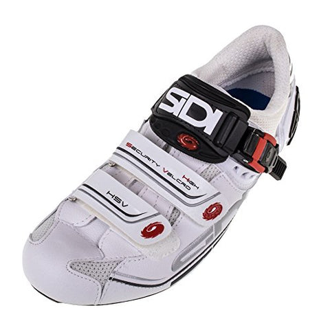 Sidi Genius 7 Road Shoe White/White (Eur 45/ US 10.5)