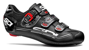 Sidi Genius 7 Mega Road Shoes (41 M EU, Black)