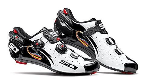 Sidi Wire Carbon Road Shoes (EU 43, White/Black)