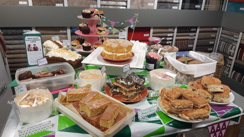 Supertex Raise Money For MacMillan's Coffee Morning