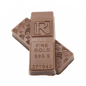 Memory Lane Bullion Bar Milk - RChocolateLondon