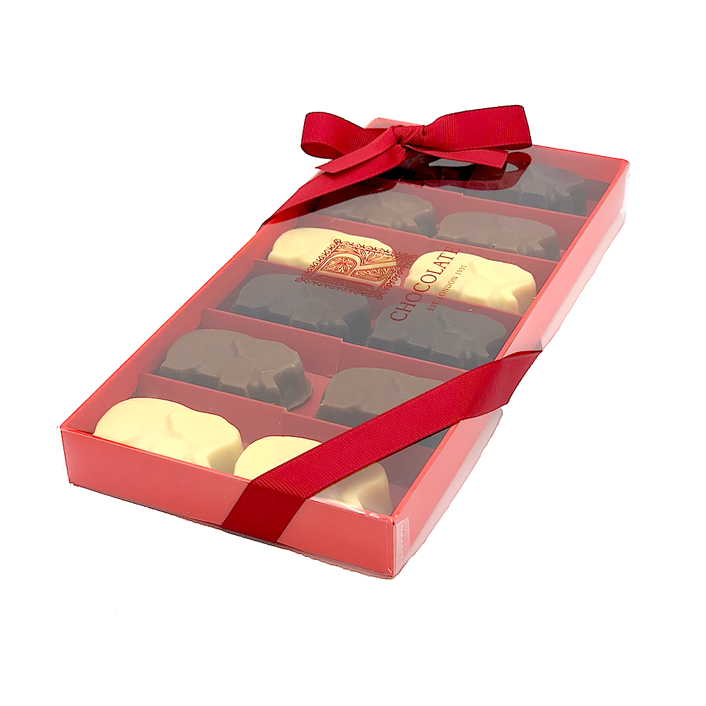 Sea Salt Caramel Elephant – Mixed box of 12