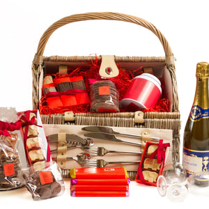 Large Picnic Basket Hamper - RChocolateLondon