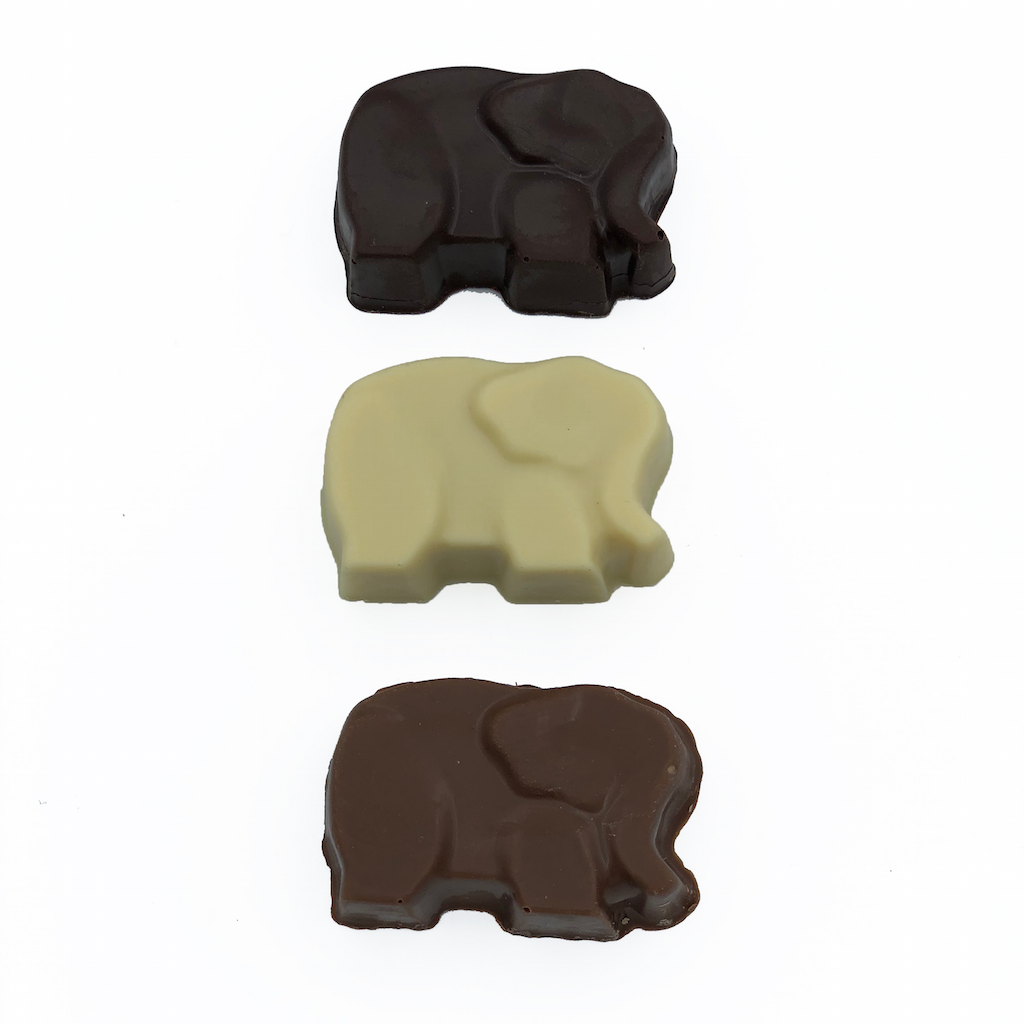 Sea Salt Caramel Elephant box of 3